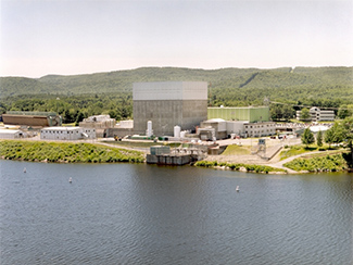 Vermont Yankee is licensed to keep running until 2032. But it will close next year, a victim of cheap natural gas. Click to enlarge. (Credit: the Nuclear Regulatory Commission)