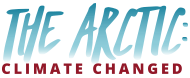 The Arctic: Climate Changed logo