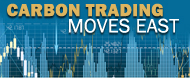 The Carbon Trading Moves East Logo