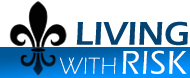 Living with Risk Logo