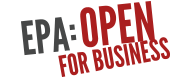EPA Open for Business logo