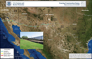 BORDER FENCE Smugglers Gulch Project A Disaster For Estuary - Us border fence map