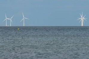 Offshore wind farm in England