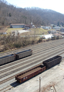 Boone County railyard