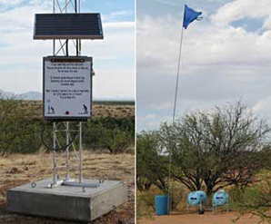 Water station / beacon