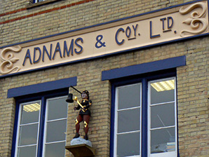 Adnams sign