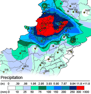 rainfall map
