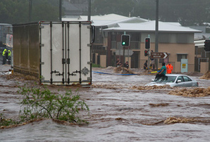 Toowoomba, Queensland Flooding