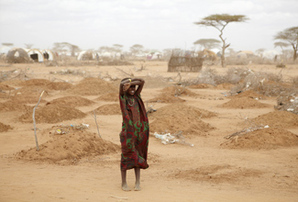 Kenya refugee camp