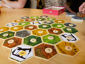 Climate board game closeup