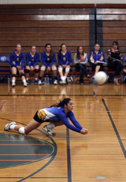 Casandra Cabrera volleyball