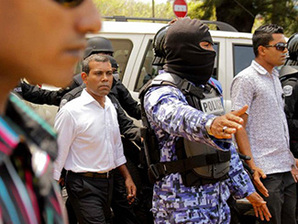 Nasheed arrested