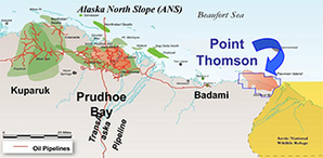 NATURAL GAS: Alaska dreams big as Exxon begins Point Thomson ...