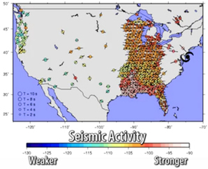 Sandy and seismic activity