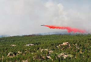 Black Forest fire