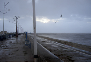 Southport after a storm