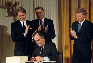 Bush signs amendments