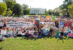 Climate rallies