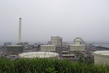 Hirono thermal power plant