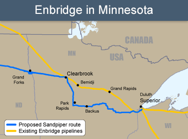 Enbridge in MN