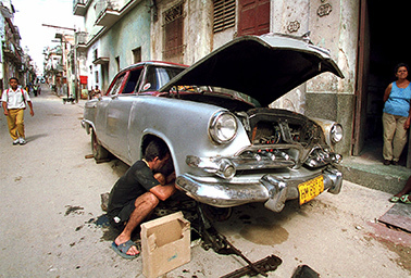 Cuban mechanic