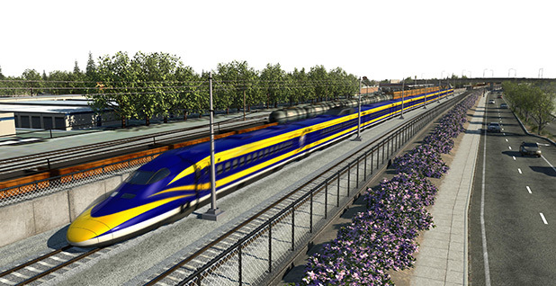 CA high speed train
