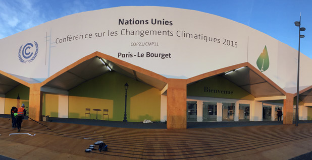 Climate talk conference center
