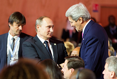 Putin and Kerry