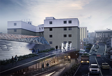 Rendering of the Denny substation
