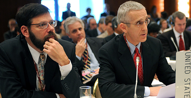 Todd Stern (right) and Jonathan Pershing (left)