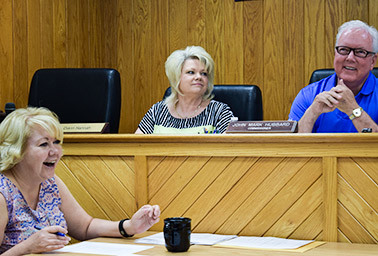 Mingo County Commission meeting