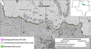 PUBLIC LANDS: BLM maps show cabin may be in Okla. -- and Texas ...