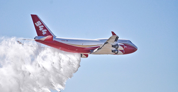 ... 2016 Boeing 747 converted into a super tanker & TECHNOLOGY: Can a 747 be reborn into a wildfire-fighting supertanker ...