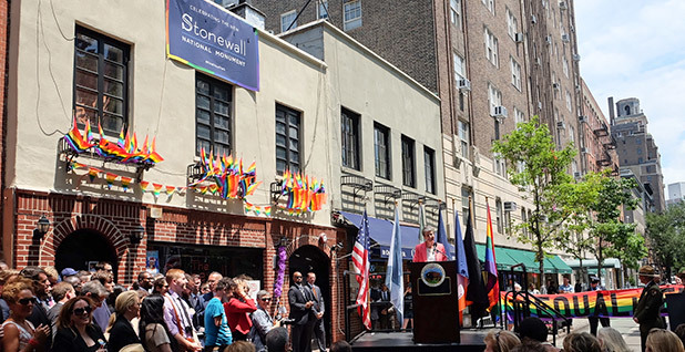 Stonewall Inn dedication