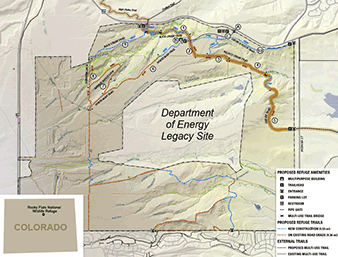 map of Rocky Flats