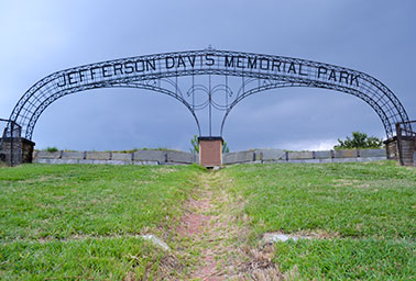 Image result for Jefferson Davis Memorial Arch and Park at Fort Monroe