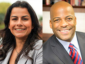 Nanette Barragan (D) vs. Isadore Hall III (D).