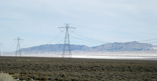 An HVDC line built by the Intermountain Power Agency