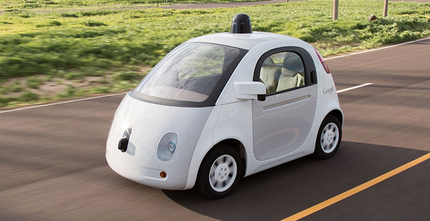 Google autonomous vehicle prototype