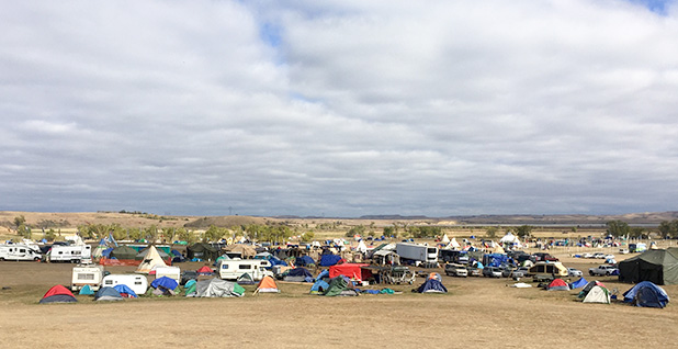 Dakota Access protest camp