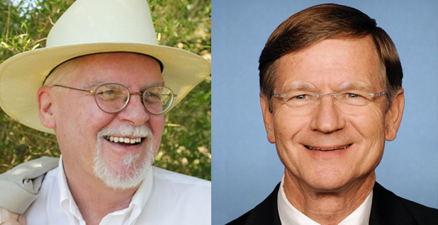 Tome Wakely and Lamar Smith