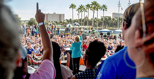 Hillary Clinton campaign event