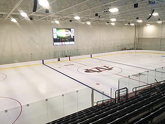 Watford City hockey rink
