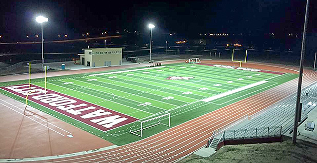 Watford City high school football stadium