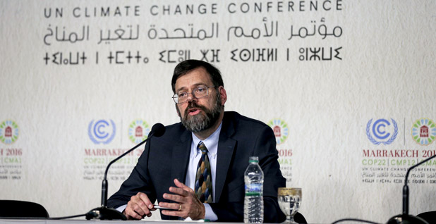 U.S. Special Envoy for Climate Change Jonathan Pershing