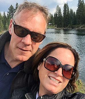 Ryan Zinke and wife, Lolita