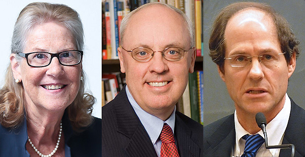 Sally Katzen, John Graham and Cass Sunstein