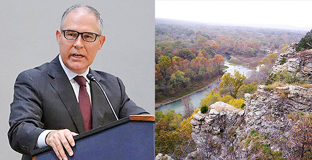 Scott Pruitt and Illinois River