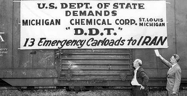 World War II DDT shipment
