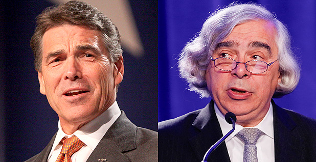 Rick Perry and Ernest Moniz